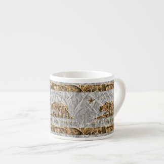 Camo California Bear Espresso Cup