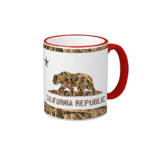 Camo California Bear Mug