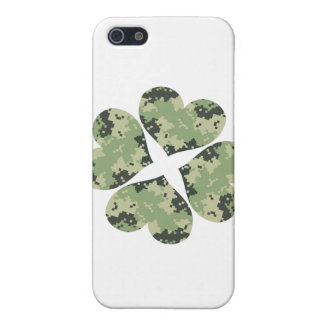 Camo Clover iPhone 5/5S Cover