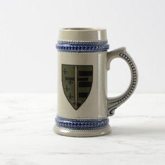 Camo Crest Beer Stein