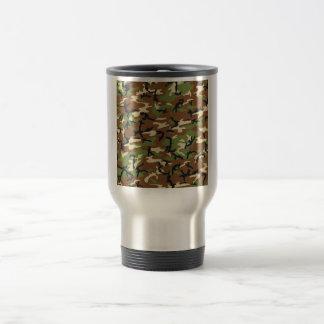 """""""Camo"""" design travel mug"""