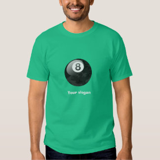 Camo Edition Eight Ball Tee with Slogan