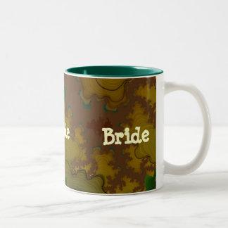 Camo Fractal Bride Mug