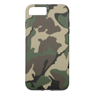 Camo iPhone 7 Plus, Tough Case