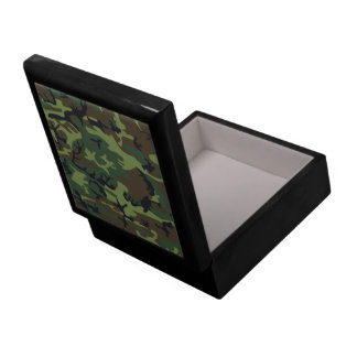 Camo Large Inlaid Tile Gift/Jewelry  Box
