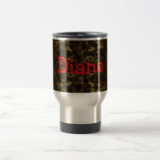 Camo Lover Petal Design Stainless Steel Travel Mug