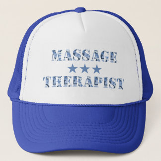 Camo Massage Therapist Hat