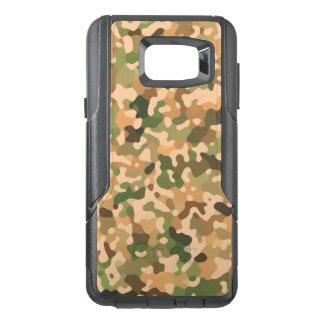 Camo Pattern - Green Orange Brown Black OtterBox Samsung Note 5 Case