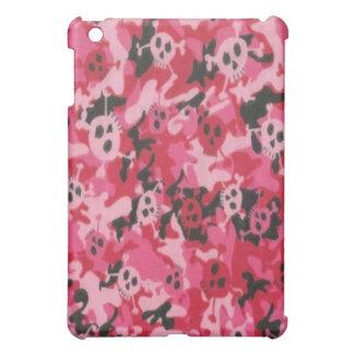 Camo Pink Red Skulls  iPad Mini Cases