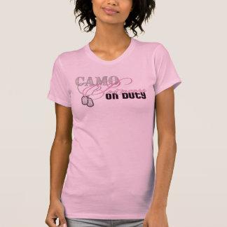 Camo Princess On Duty T-shirts