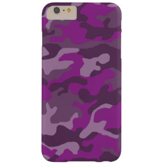 Camo Print (Customizable Colors) Barely There iPhone 6 Plus Case