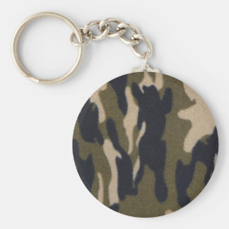 Camo Print Jungle Green/Black for Hunters Key Ring