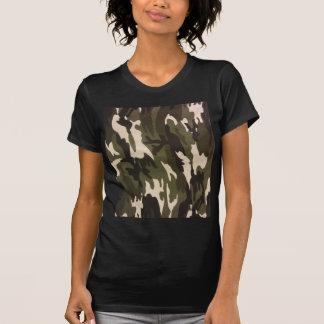 Camo Print Tee Shirts