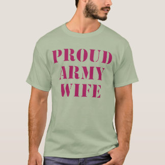 camo-proud-army-wife-2 T-Shirt