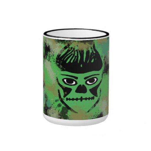 Camo Skull Mug