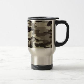Camo Stainless Steel Travel Mug