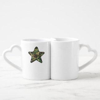 Camo Star Coffee Mug Set