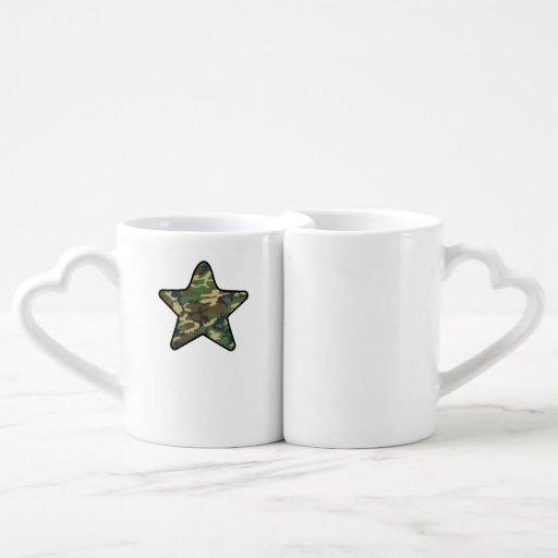 Camo Star Lovers Mugs