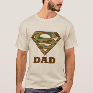 Camo Super Dad T-Shirt