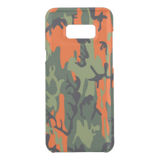 Camouflage Como Army Military Print textures Get Uncommon Samsung Galaxy S8 Plus Case