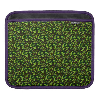 Camouflage Elite (army jungle green) ~ iPad Sleeve