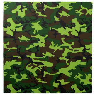 Camouflage Elite (army jungle green) ~ Napkin