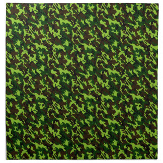 Camouflage Elite (army jungle green) ~ Napkin