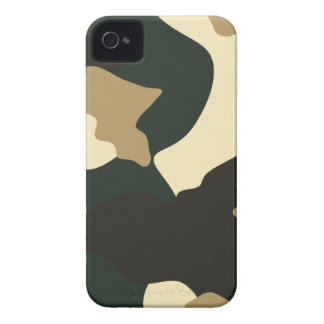 Camouflage (Green & Tan) iPhone 4 Case-Mate Case