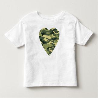 Camouflage Heart Tshirts