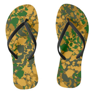 camouflage jandals