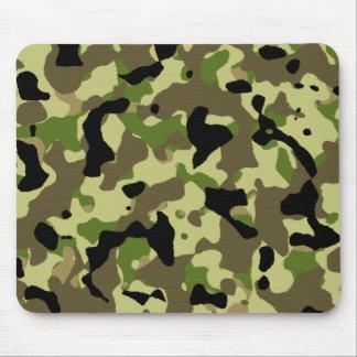 Camouflage Khaki Commando Camo Game Mousepad
