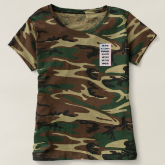 Camouflage Not My POTUS T-Shirt