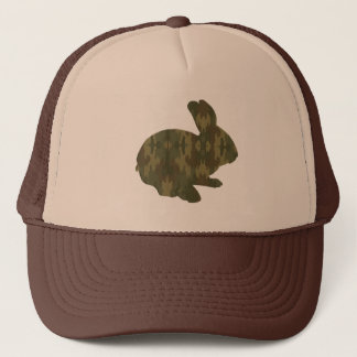 Camouflage Silhouette Easter Bunny Hat