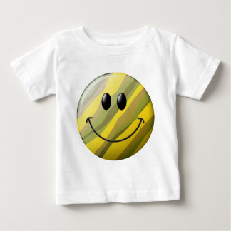 Camouflage Smiley Face Tee Shirt