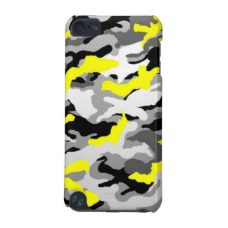 Camouflage Yellow Black Como Army Military Print iPod Touch (5th Generation) Cover