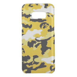 Camouflage Yellow Como Army Military Print Uncommon Samsung Galaxy S8 Plus Case