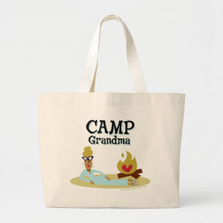 Camp Grandma Fashion Jumbo Tote Bag