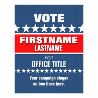 Campaign Template Custom Flyer