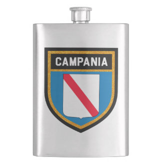 Campania Flag Hip Flask