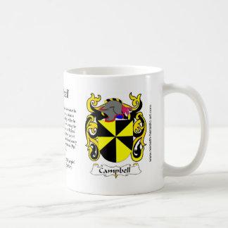 Campbell Crest mug