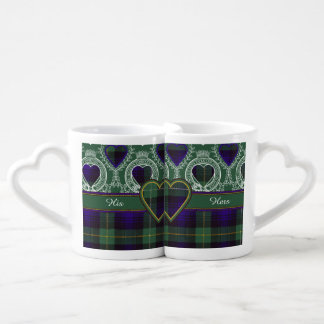 Campbell of Argyll clan Plaid Scottish tartan Coffee Mug Set
