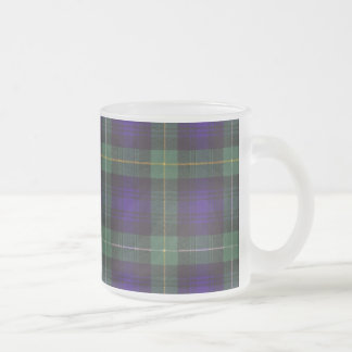 Campbell of Argyll clan Plaid Scottish tartan Frosted Glass Coffee Mug