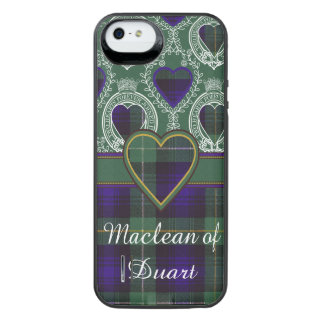 Campbell of Argyll clan Plaid Scottish tartan iPhone SE/5/5s Battery Case