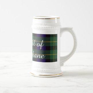 Campbell of Breadalbane Plaid Scottish tartan Beer Stein