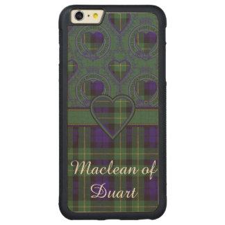 Campbell of Breadalbane Plaid Scottish tartan Carved Maple iPhone 6 Plus Bumper Case
