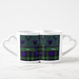 Campbell of Breadalbane Plaid Scottish tartan Coffee Mug Set