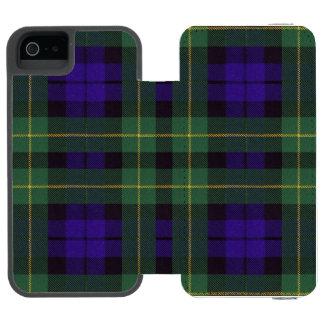 Campbell of Breadalbane Plaid Scottish tartan Incipio Watson™ iPhone 5 Wallet Case