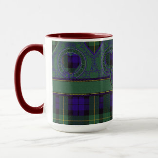 Campbell of Breadalbane Plaid Scottish tartan Mug