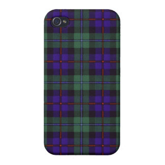 Campbell of Cawdor clan Plaid Scottish tartan Case For The iPhone 4