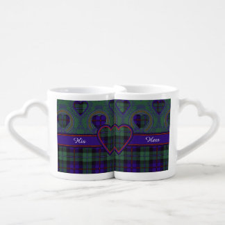 Campbell of Cawdor clan Plaid Scottish tartan Coffee Mug Set